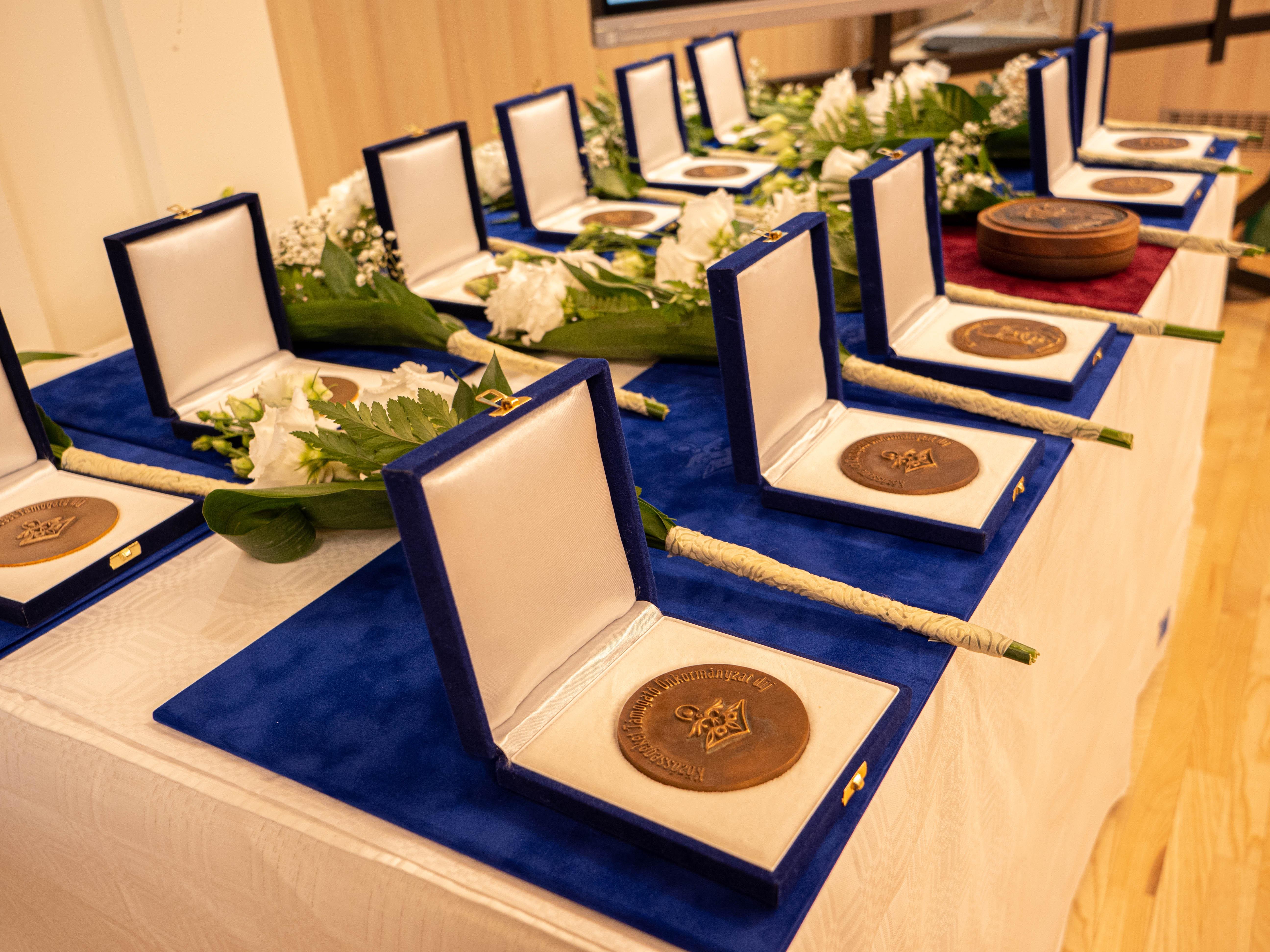 Rangos szakmai kitüntetéseket adtak át a Nemzeti Művelődési Intézetben