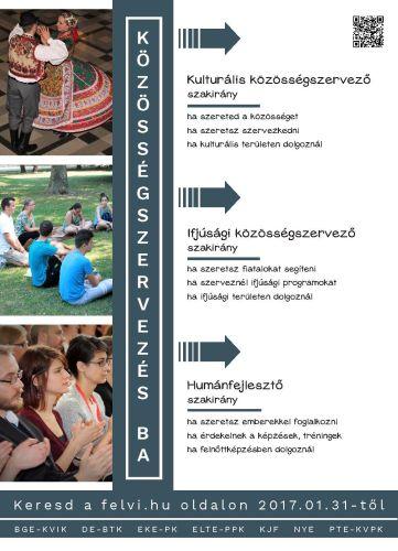 Hét felsőoktatási intézményben indul a Közösségszervezés BA szak