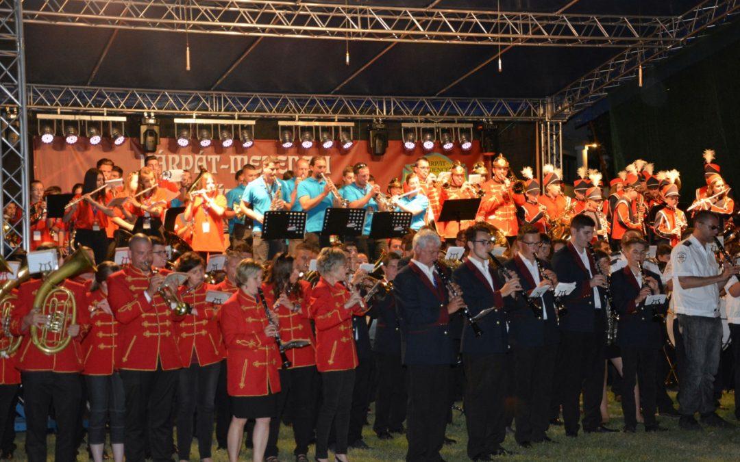 Közös örömzenélés és szakmai tapasztalatcsere az I. Kárpát-medencei Önkéntes Tűzoltózenekari Találkozón