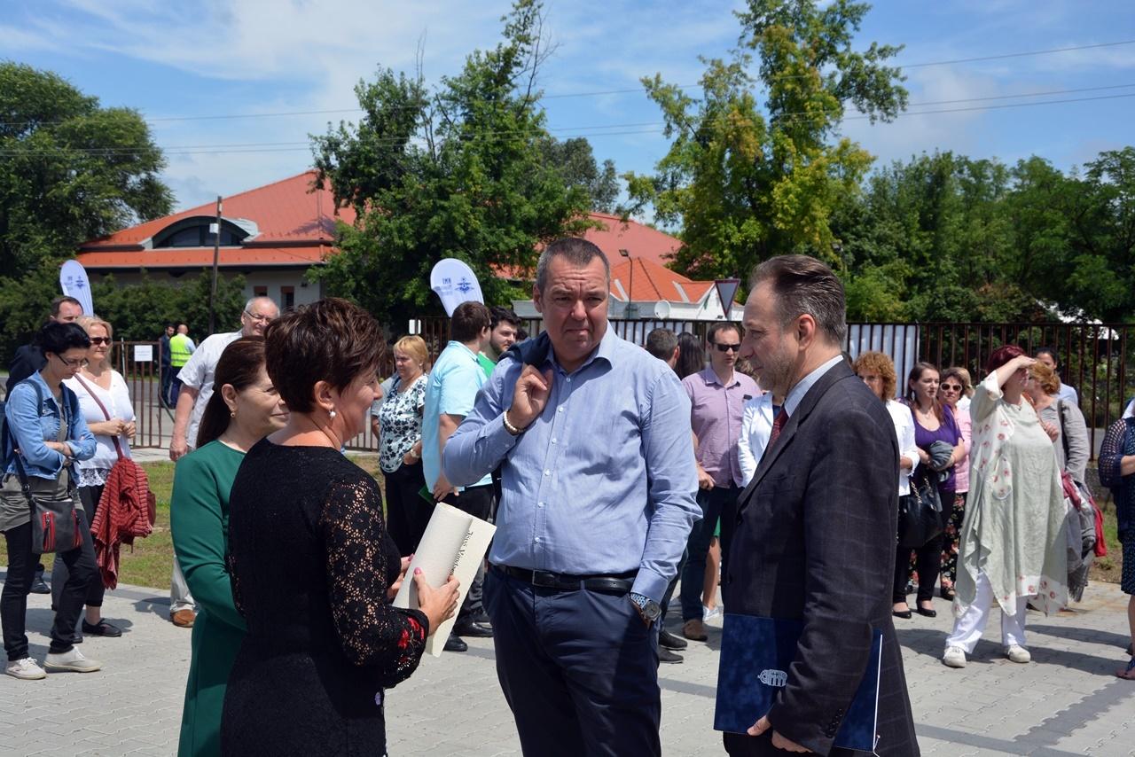 Balról jobbra: Závogyán Magdolna, L. Simon László, Fekete Péter