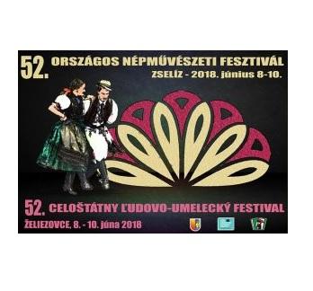 Az élő és virágzó hagyományok elevenednek meg a zselízi Országos Népművészeti Fesztiválon