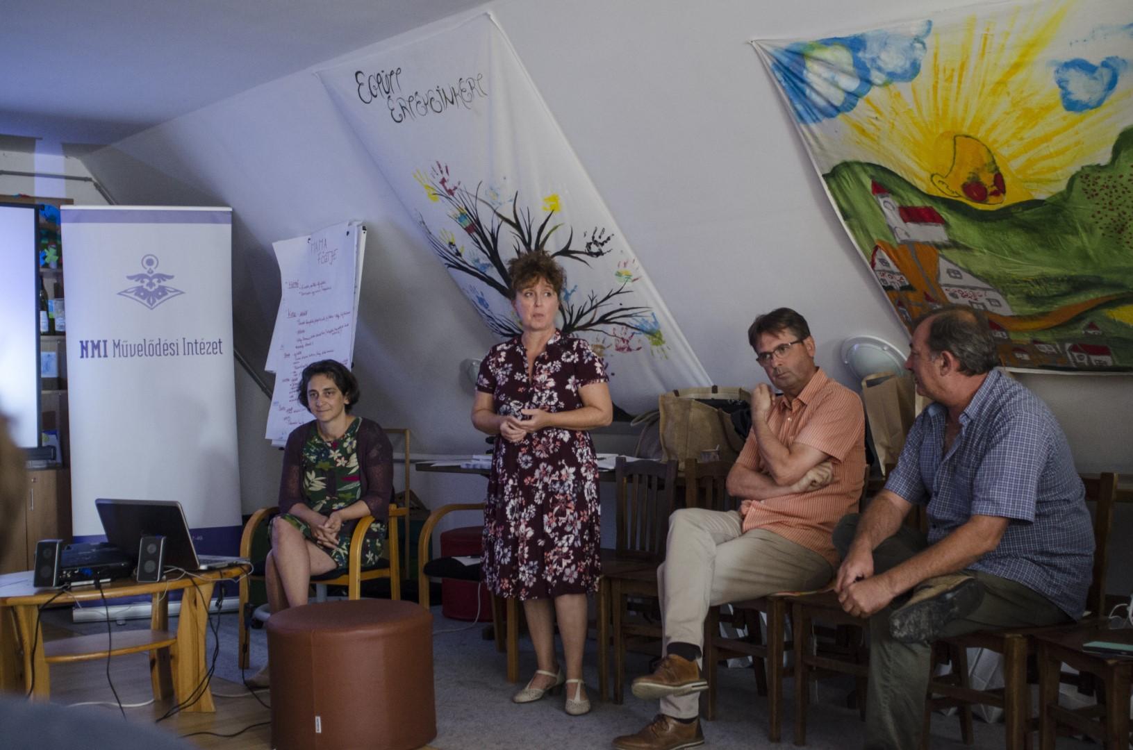 Vándorakadémia 5. nap Dóri Éva és Balogné Uracs Marianna