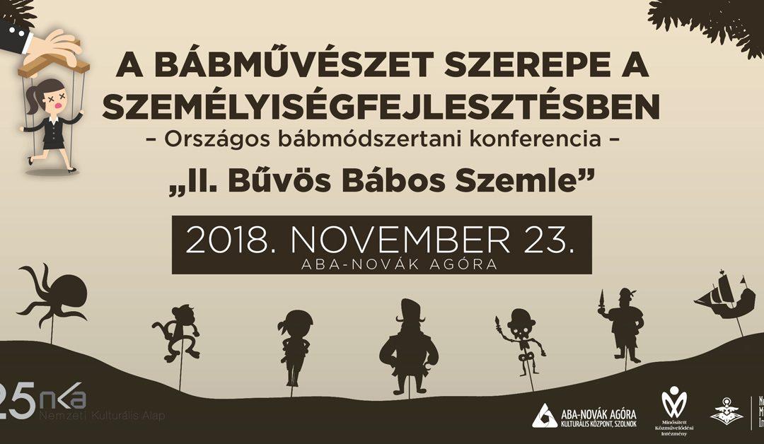 Utazz velünk Bábországba! – hiánypótló konferencia és előadások Szolnokon