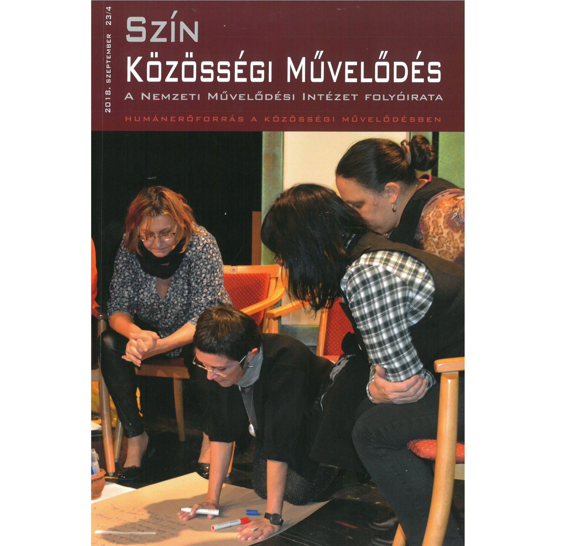 Elérhető a Szín Közösségi Művelődés idei 4. lapszáma