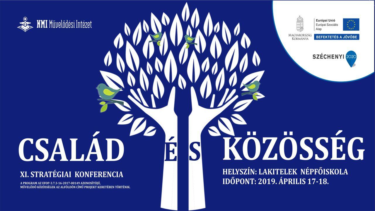 A családok és a közösségi művelődés kapcsolódásait vizsgálja a következő stratégiai konferencia