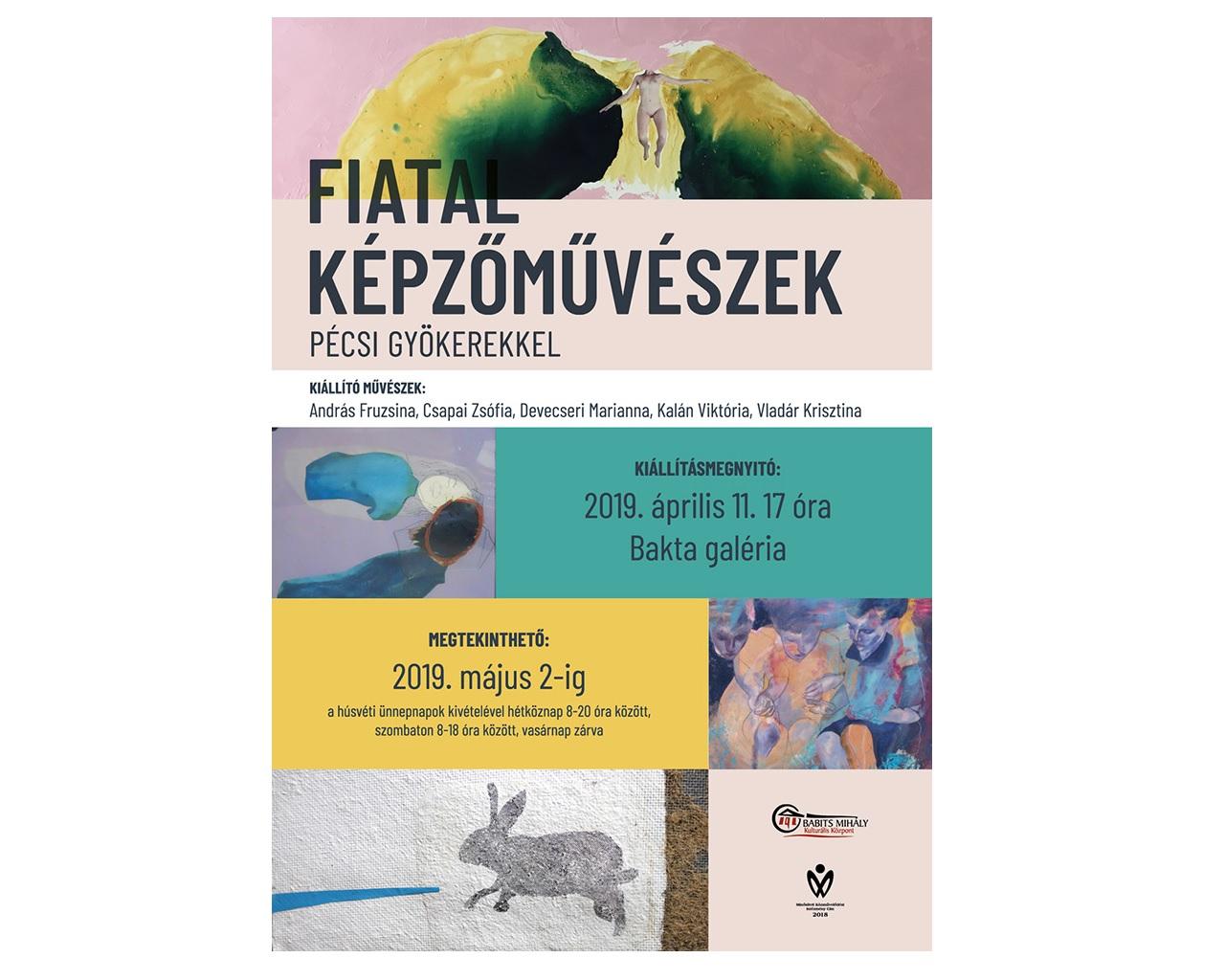 Fiatal képzőművészek pécsi gyökerekkel – Nyilas Márta tanítványainak kiállítása