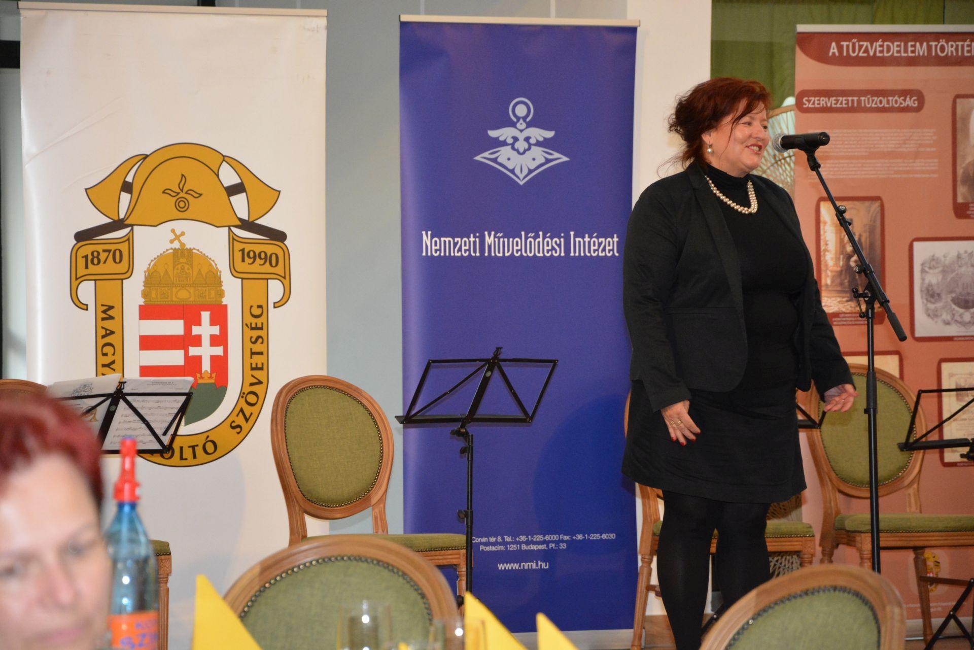 Török Károlyné, a Nemzeti Művelődési Intézet Szakmai Mintaprogram Központ vezetője