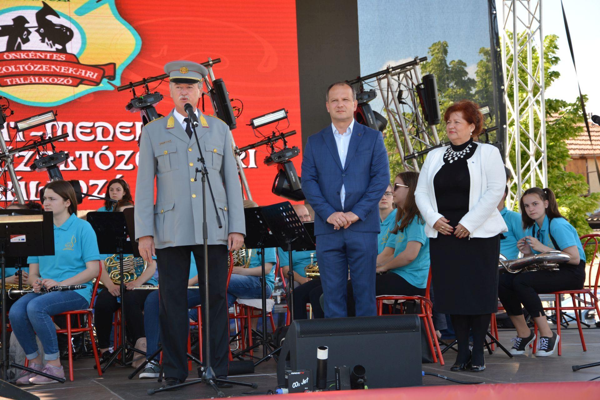 Dobson Tibor tű. dandártábornok beszéde