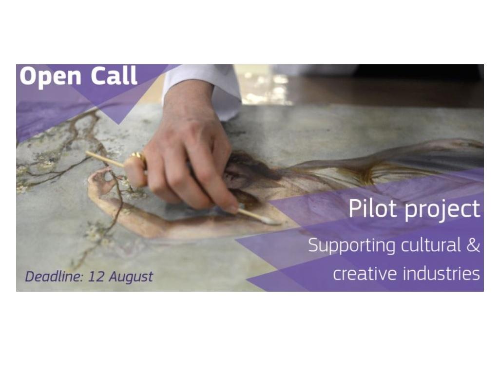 Pilot projekt a kulturális és kreatív iparágakért