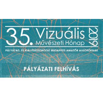 35. Vizuális Művészeti Hónap pályázati felhívása