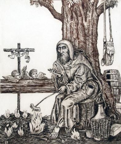 """""""EVEZZ A MÉLYRE"""" – Kortárs keresztény művészeti gyűjtemény a Kecskeméti Katona József Múzeumból"""