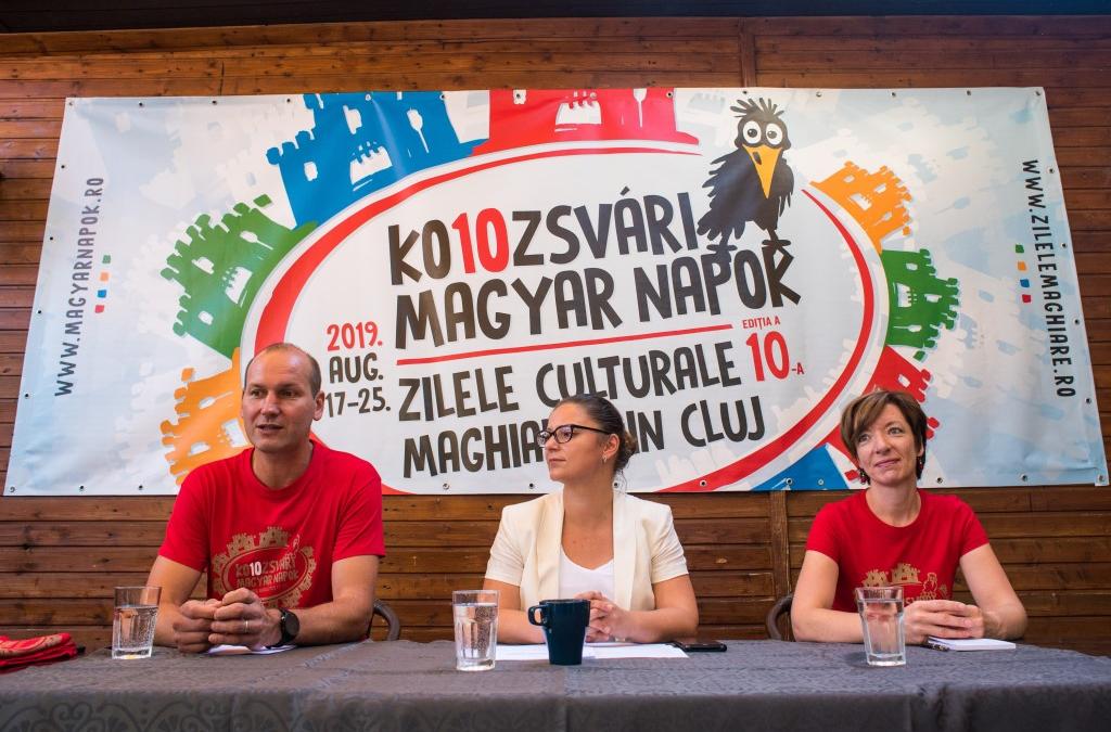 Vasárnap kezdődik a 10. Kolozsvári Magyar Napok