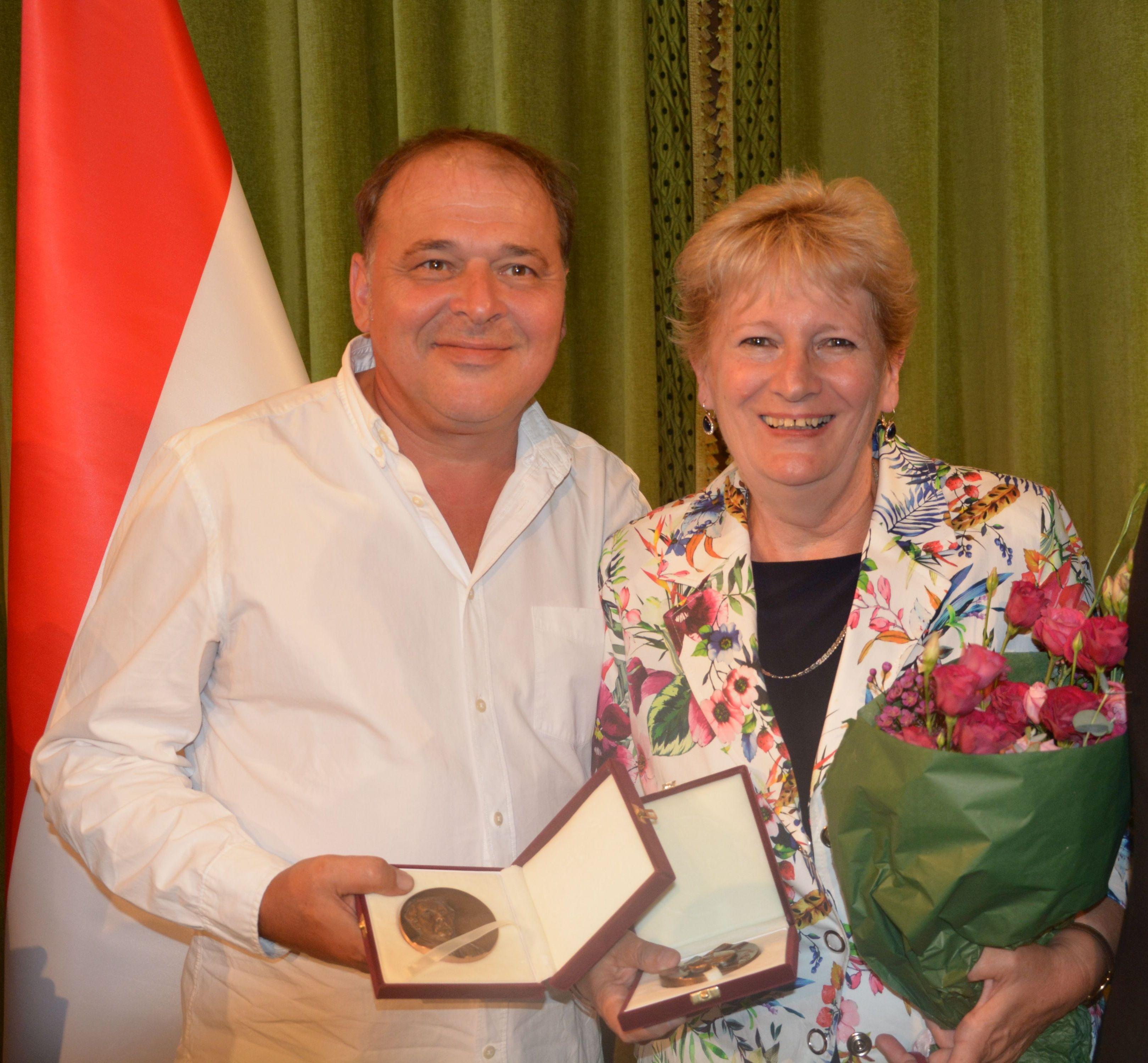 Szedlacsek Emília és Jantyik Zsolt