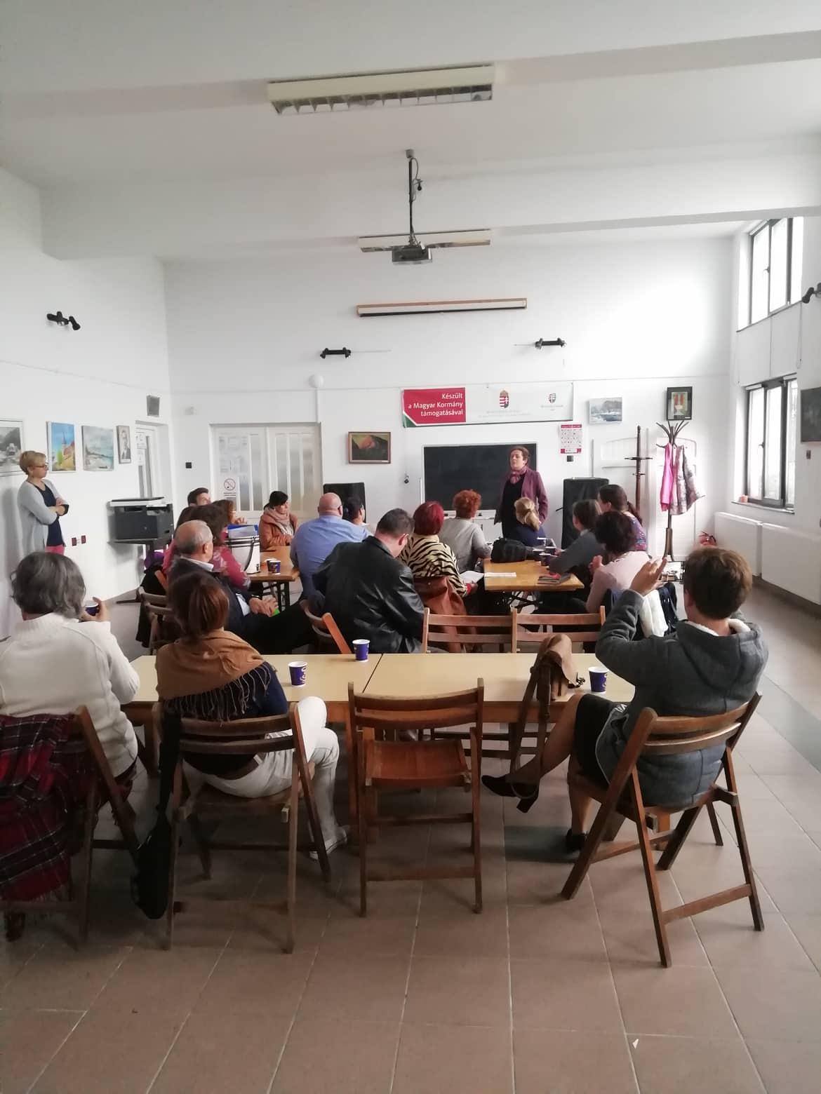 Kolozsvár, látogatás az Erdélyi Magyar Közművelődési Egyesületnél (EMKE)