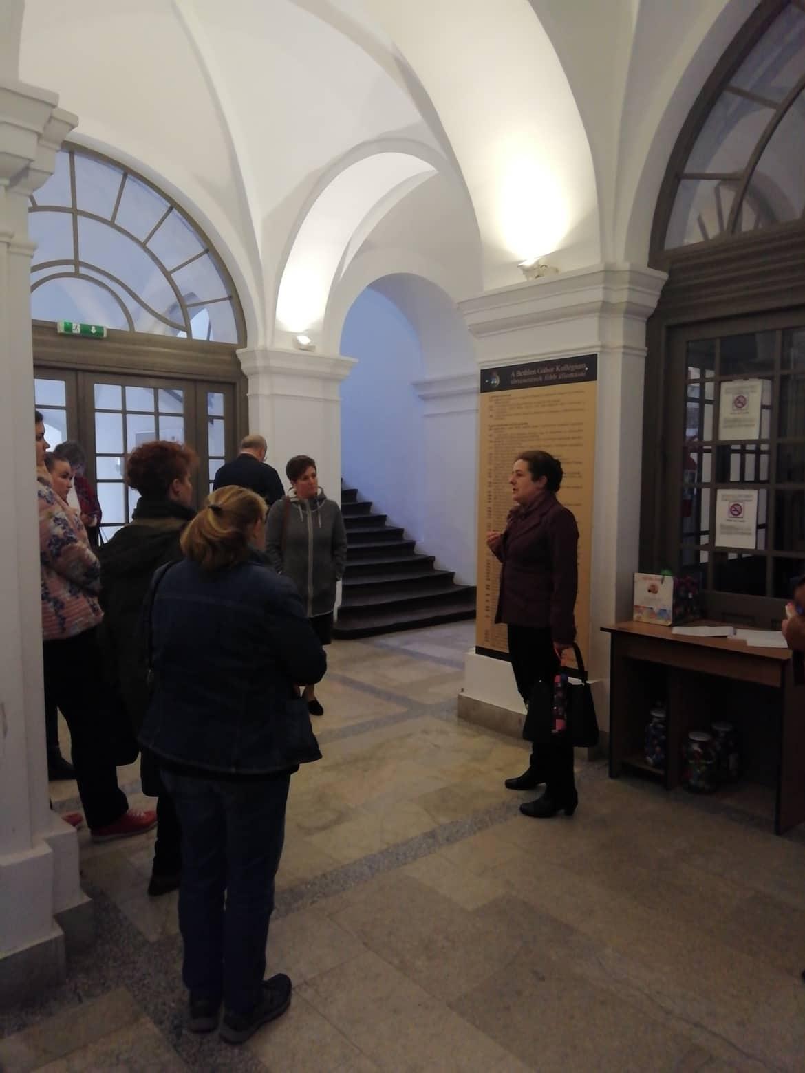 Nagyenyed, közösségi ház és református kollégium, iskolatörténeti kiállítás