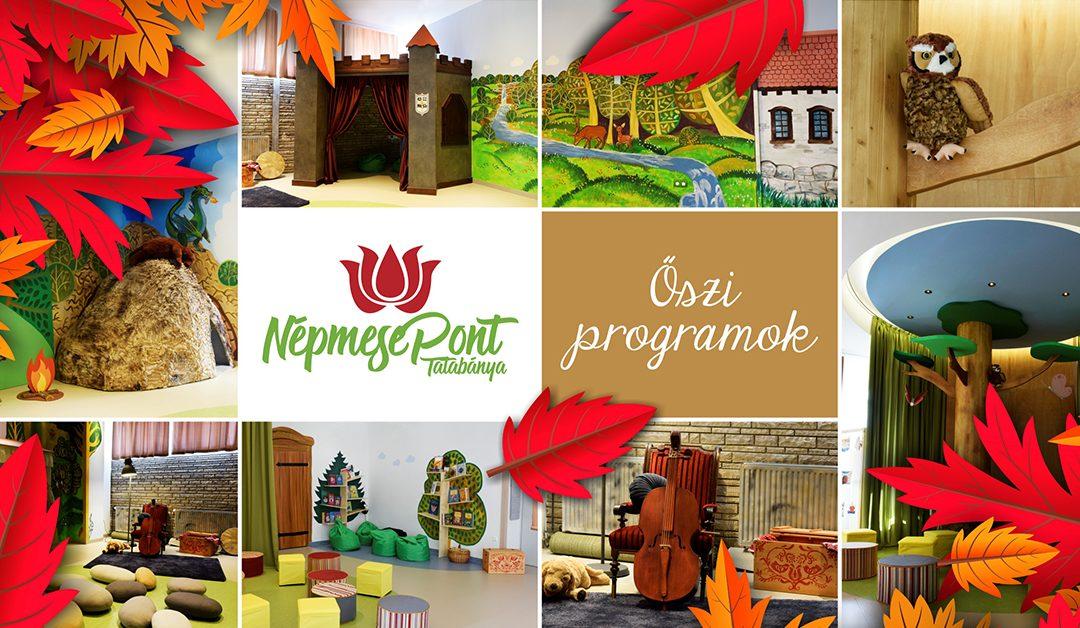 A NépmesePont őszi programjai A Vértes Agorájában