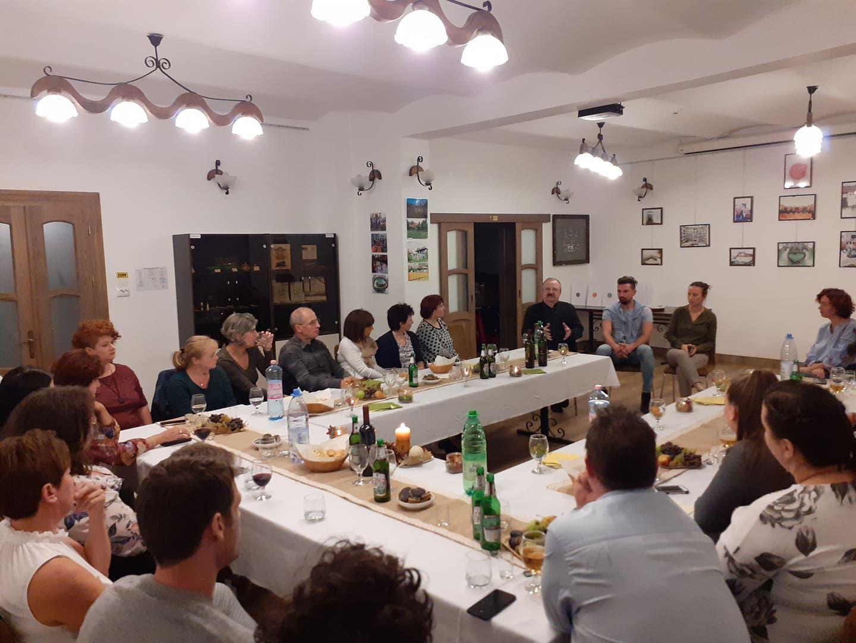 Szamosújvár, műhelymunka a TÉKA Alapítvány munkatársaival