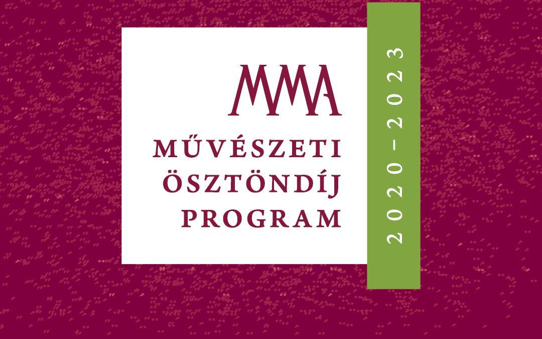 Megjelent a Magyar Művészeti Akadémia pályázati felhívása a 2020–2023. évekre szóló művészeti ösztöndíj elnyerésére